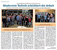 Blick Aktuell Nr. 03/2017 – Modernste Technik erleichtert die Arbeit bei KFZ Jeub