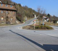 """Sperrung der """"Waldorfer Straße"""" in Niederzissen"""