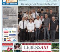 Blick aktuell – Gelungenes Gewerbefestival Niederzissen 2018