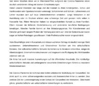 Gestalten in der Corona-Krise Zukunftsperspektive Rheinland-Pfalz. Veränderten Alltag verlässlich gestalten.